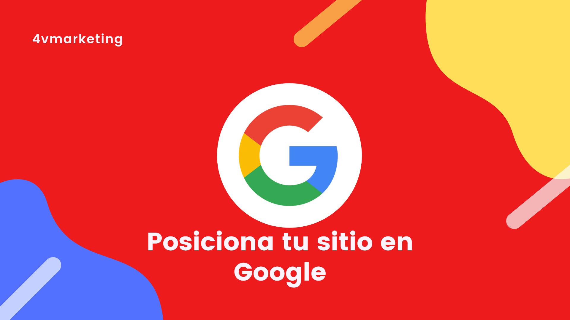 Posicionar tu sitio en Google
